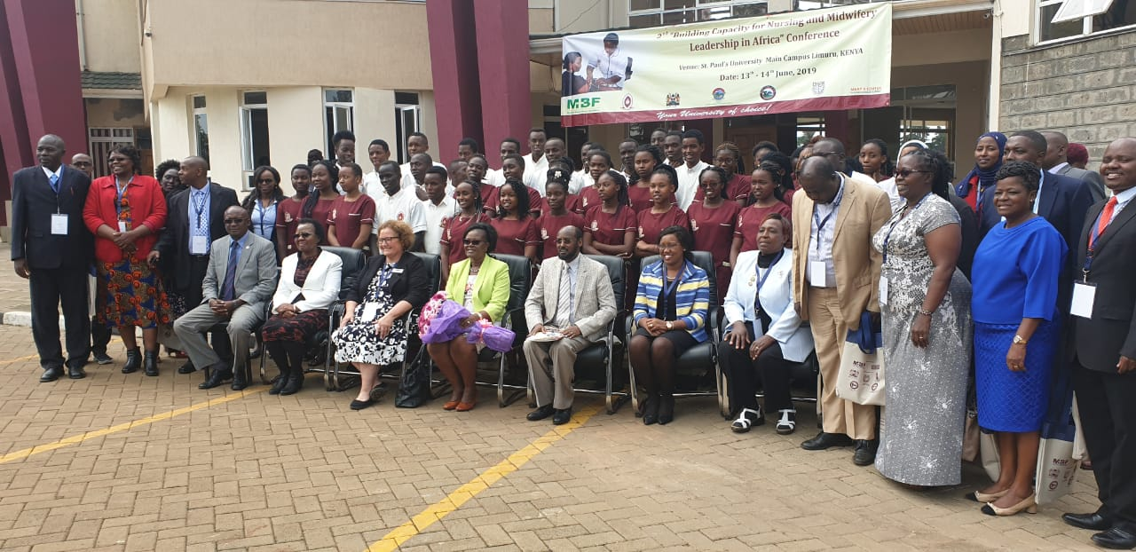Nurses, midwives, experts and leaders come together in Kenya