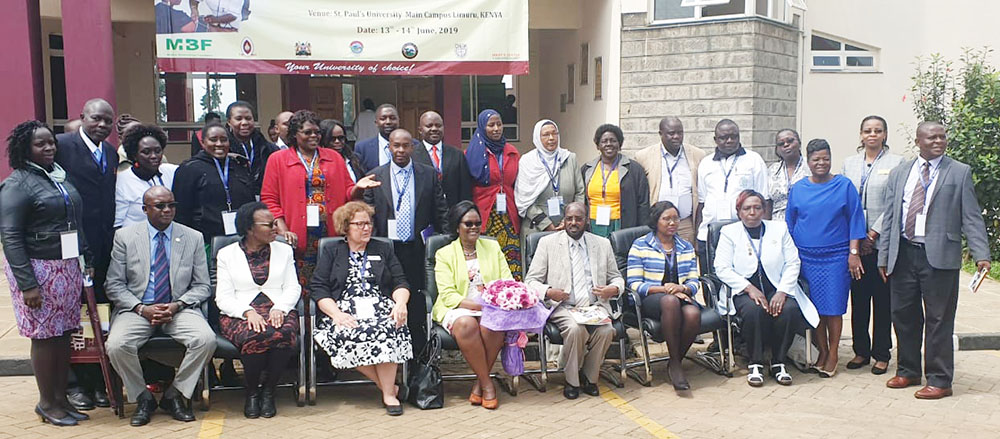 2nd Annual Building Capacity for Nursing and Midwifery Leadership in Africa conference presenters