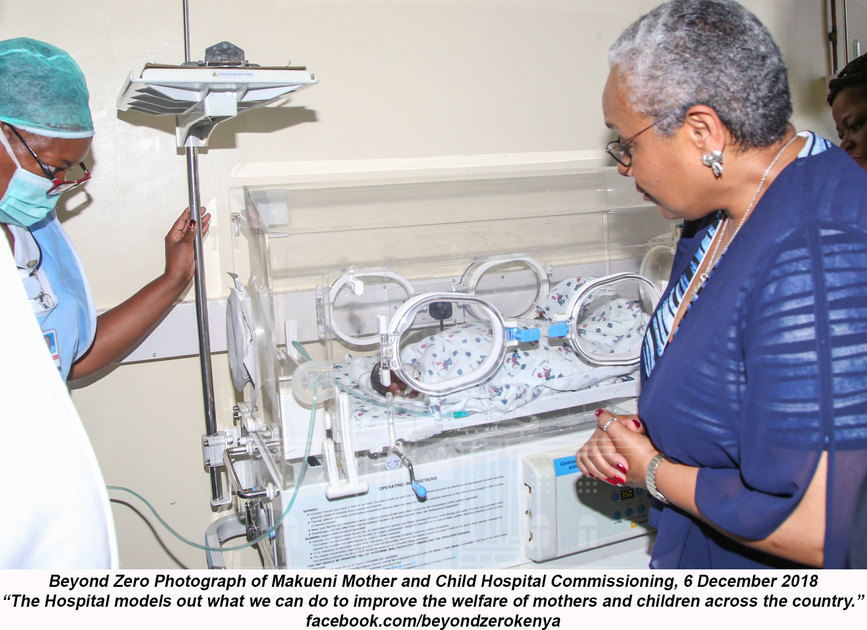 First Lady of Kenya Mobilizes Resources to Lower Maternal Mortality Rates