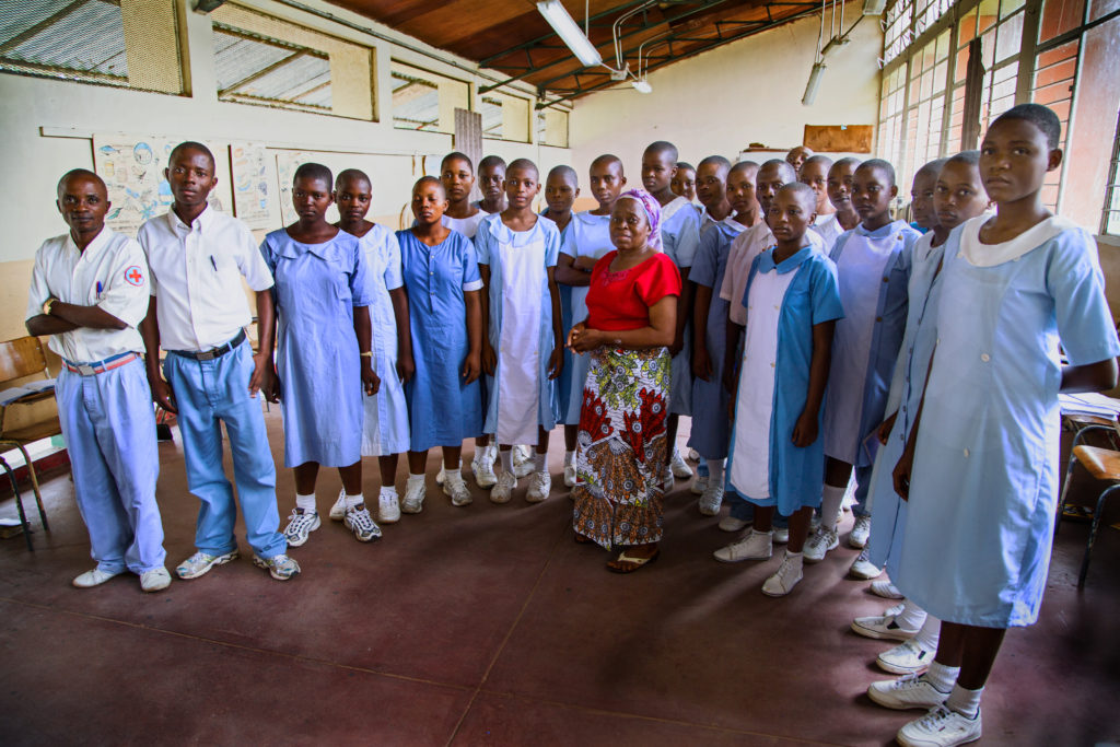 Congo Nursing Students